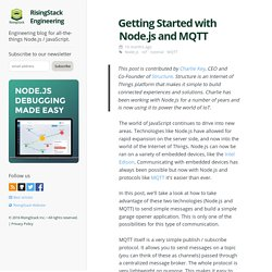 Getting Started with Node.js and MQTT