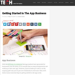 Getting Started In The App Business