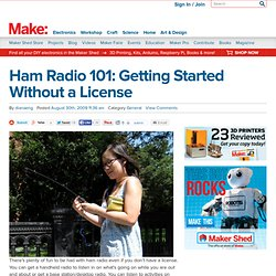 Ham Radio 101: Getting Started Without a License