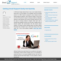 Getting Gmail Support Easily and Quickly – Gmail Technical Support Latest News Update