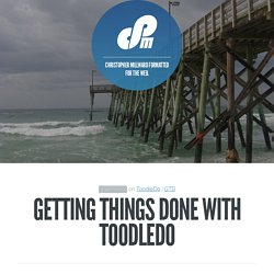 Getting Things Done with ToodleDo