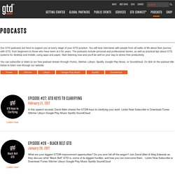 Getting Things Done® GTD Podcasts