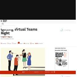 Getting Virtual Teams Right