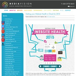 Getting Your Website Health In Check for 2015 - MediaVision Blog
