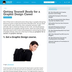 Getting Yourself Ready for a Graphic Design Career