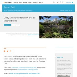 Getty Museum offers new arts ed teaching tools