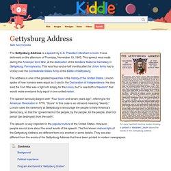Gettysburg Address for Kids