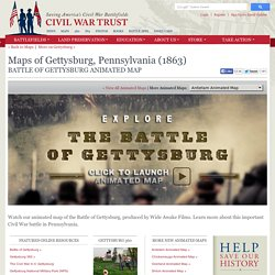 Gettysburg Animated Map
