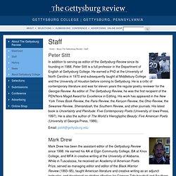 Gettysburg Review - Staff