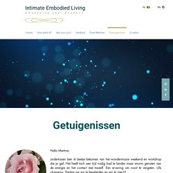 Intimate Embodied Living