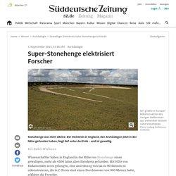 Gewaltiger Steinkreis nahe Stonehenge entdeckt