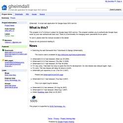 gheimdall - A small web application for Google Apps SSO service