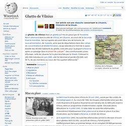 Ghetto de Vilnius