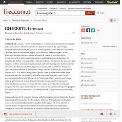 Lorenzo Ghiberti in Dizionario Biografico