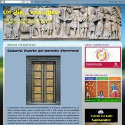 Un día... una obra: Ghiberti: Puerta del paraíso (Florencia)