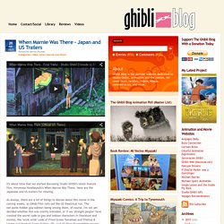 The Ghibli Blog