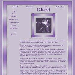 Ghjuliu Bernardini Menuisier & poète