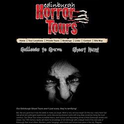 Edinburgh Horror Tours