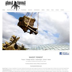 Ghost Forest Art Project