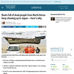 Boats full of dead people from North Korea keep showing up in Japan — here's why