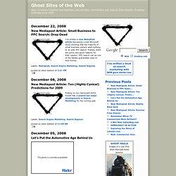 Ghost Sites [November 1, 2001]