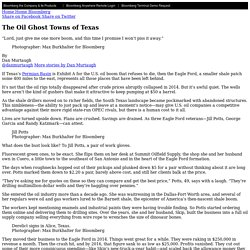 The Oil Ghost Towns of Texas - Bloomberg
