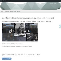 ghostTown Elite 0.5 – kilad.net