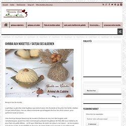 ghribia aux noisettes / gateau sec algerien