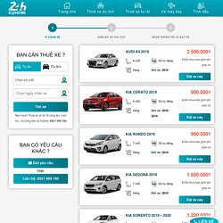Bảng giá cho thuê xe ôtô tự lái Đà Nẵng giá rẻ 2020 - ĐẶT NGAY...!
