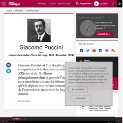 Giacomo Puccini - France Musique