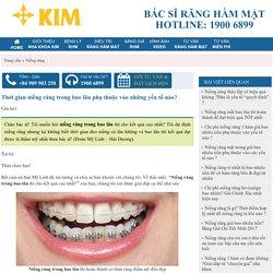 Thời gian niềng răng trong bao lâu phụ thuộc vào những yếu tố nào?