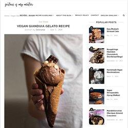 Vegan Gianduia Gelato Recipe
