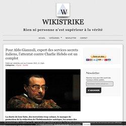 Pour Aldo Giannuli, expert des services secrets italiens, l'attentat contre Charlie Hebdo est un complot