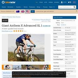 Giant Anthem X Advanced SL 1 review
