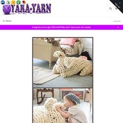 Giant Arm Knit Bunny – Yara Yarn