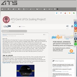 ATS Giant UFOs Scaling Project!