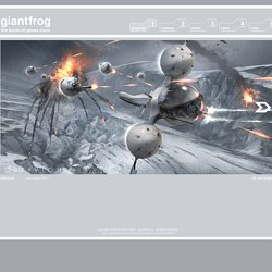 Giantfrog - The Studio of James Clyne - Concept Design, Art Direction, Production Design -