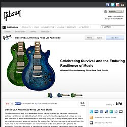Gibson USA Anniversary Flood Les Paul Studio