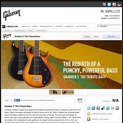 USA Grabber 3 '70s Tribute Bass