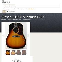 1967 Gibson J-160E Sunburst ''John Lennon'' acoustic