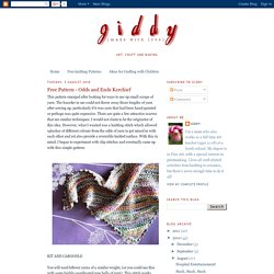 Giddy (made with love): Free Pattern - Odds and Ends Kerchief