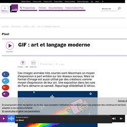 GIF : art et langage moderne