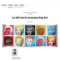Le GIF est le nouveau Pop Art // FABERNOVEL