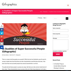 11 Qualities of Super Successful People [Gifographic] - Gifographics