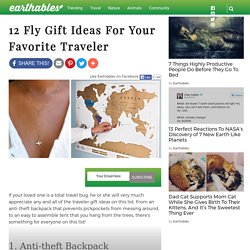 12 Fly Gift Ideas For Your Favorite Traveler