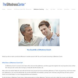 Giftedness Coaching — The Giftedness Center