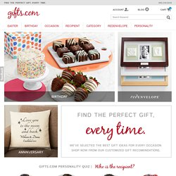 Gift Ideas, Birthday Gifts, Anniversary Gifts and Ideas for Every Occasion – Gifts.com