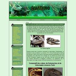 Gigadino - Les inexactitudes de la saga Jurassic Park