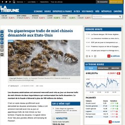 Un gigantesque trafic de miel chinois démantelé aux Etats-Unis