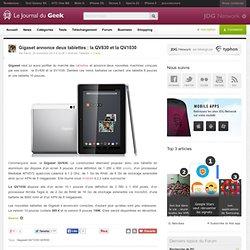 Gigaset annonce deux tablettes : la QV830 et la QV1030